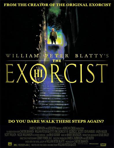 Poster de The Exorcist III (El exorcista III)