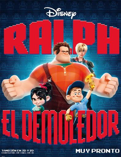 Poster de Wreck-It Ralph (Ralph: El demoledor)