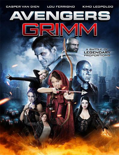 Poster de Avengers Grimm