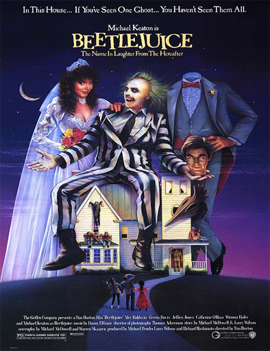 Poster de Beetlejuice, el súper fantasma