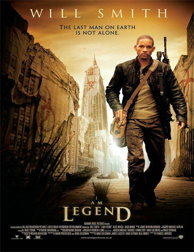 Ver I am legend (Soy leyenda) (2007) HD 720p [MEGA] Latino