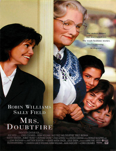 Poster de Mrs. Doubtfire (Papá por siempre)