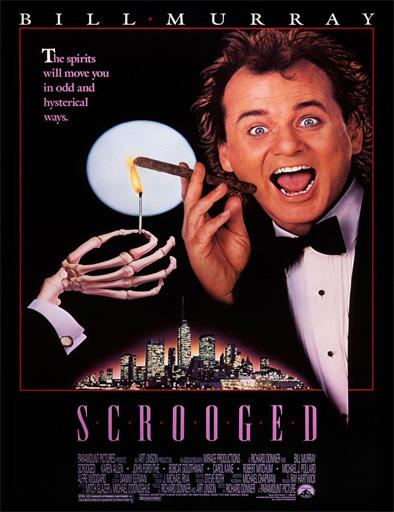 Poster de Scrooged (Los fantasmas contraatacan)