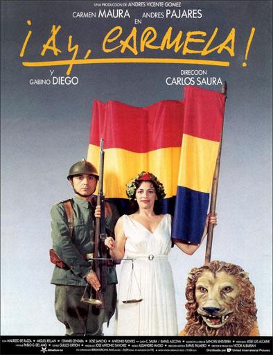 Poster de ¡Ay, Carmela!