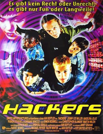 Poster de Hackers, piratas informáticos