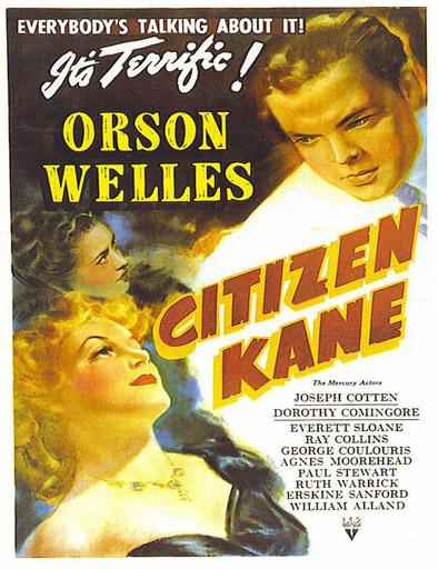Poster de Citizen Kane (Ciudadano Kane)