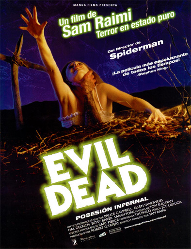 Poster de The Evil Dead (Posesión infernal)