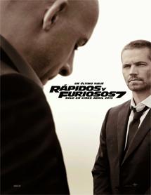 Poster mediano de Fast & Furious 7 (Rápidos y Furiosos 7)