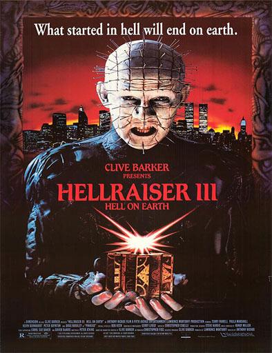 Poster de Hellraiser 2: Hellbound