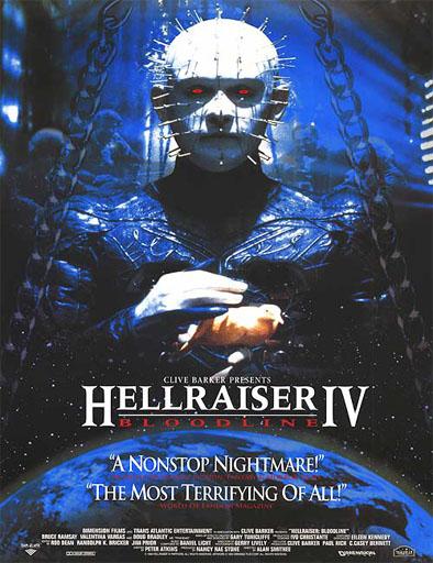 Poster de Hellraiser 4: Bloodline