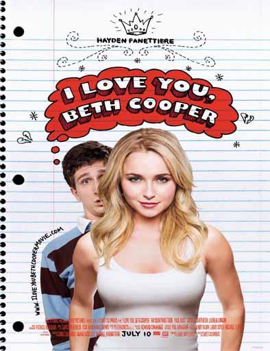 Poster de I Love You, Beth Cooper (La noche de su vida)