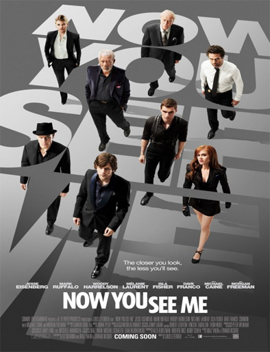 Los Ilusionistas: Nada es lo que Parece (Now You See Me) (2013) [DVD-Rip]