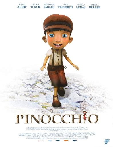 Poster de Pinocho y su amiga Coco