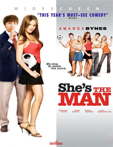 Poster de She's the Man (Ella es el chico)