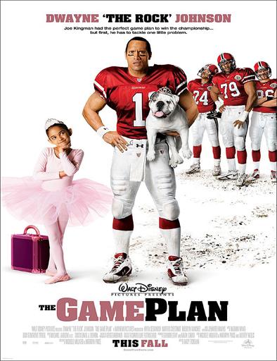 Poster de The Game Plan (Papá por sorpresa)