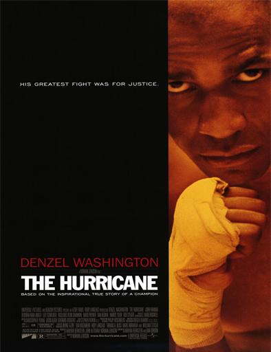 Poster de The Hurricane (Huracán Carter)