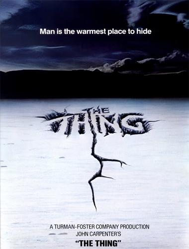 Poster de The Thing (La cosa)