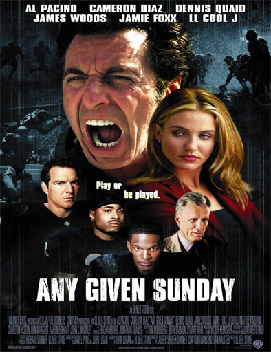 Poster de Any Given Sunday (Un domingo cualquiera)