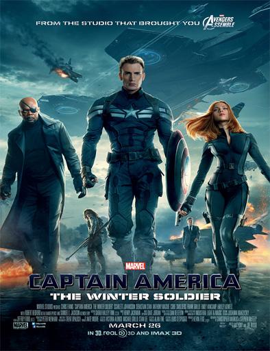 Ver Capitán América: El soldado de invierno (2014) [MEGA] HD 720p Latino