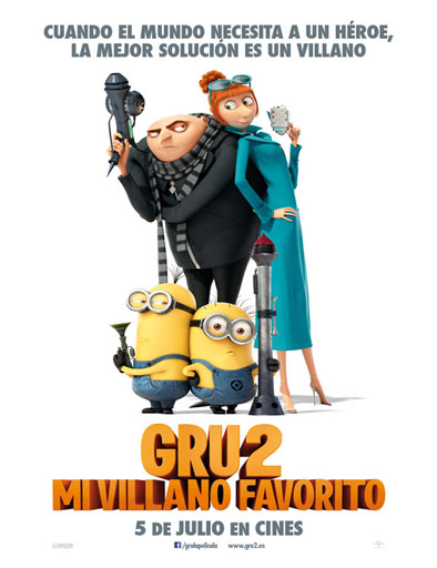 Poster de Despicable Me 2 (Gru 2: mi villano favorito)