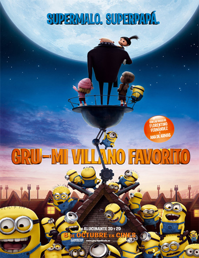 Poster de Despicable Me (Gru, mi villano favorito)