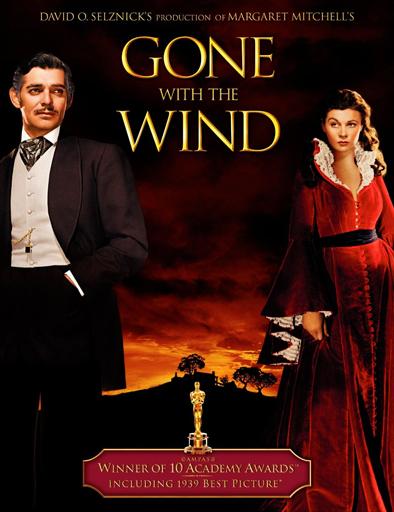 Poster de Gone With the Wind (Lo que el viento se llevó)