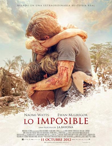 Poster de Lo imposible