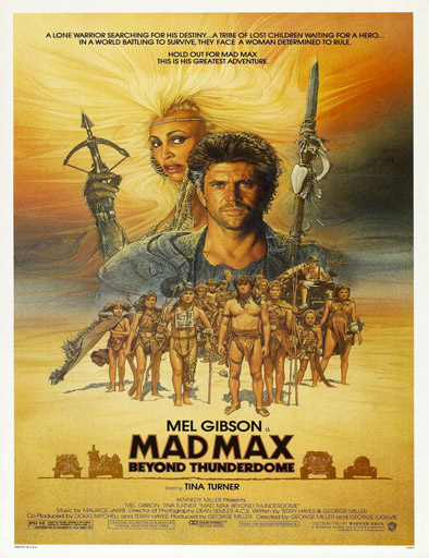 Poster de Mad Max 3: Más allá de la cúpula del trueno