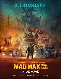 Poster mediano de Mad Max: Fury Road (Mad Max: Furia en la carretera)