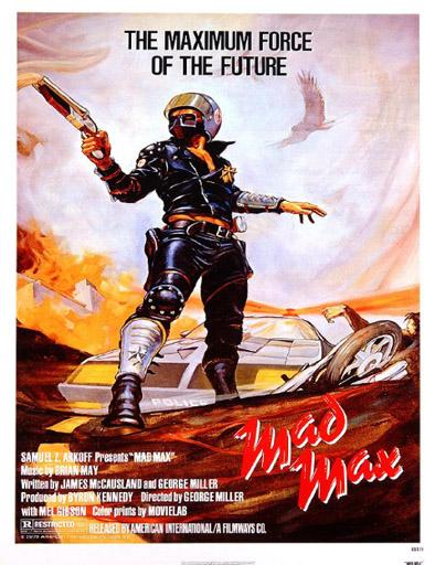 Poster de Mad Max: Salvajes de autopista