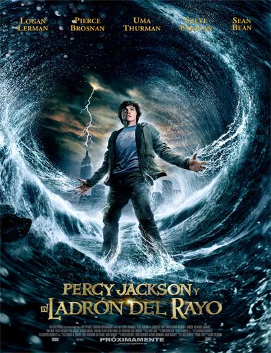 Poster de Percy Jackson y el ladrón del rayo