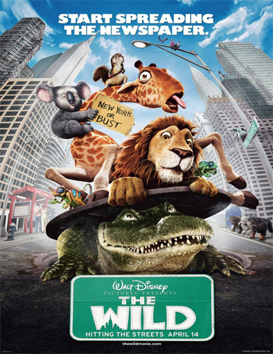 Poster de The Wild (Salvaje)