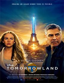 Poster mediano de Tomorrowland. El mundo del mañana