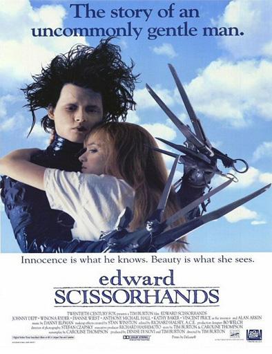 Poster de Edward Scissorhands (Eduardo Manostijeras)
