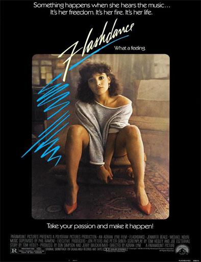 Poster de Flashdance (Electrodanza)
