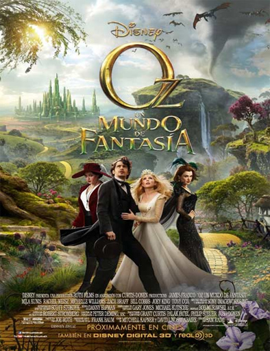 Poster de Oz Un mundo de fantasía