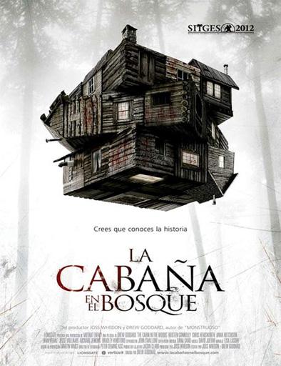 Poster de The Cabin in the Woods (La cabaña en el bosque)