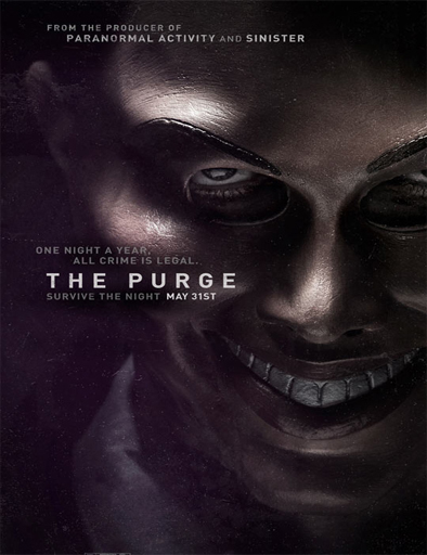 Poster de The Purge (La noche de la expiación)