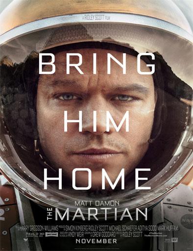 Poster de The martian (Marte: Operación rescate)