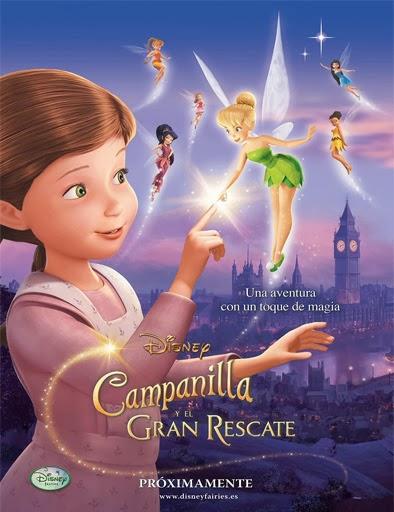Poster de Campanilla y el gran rescate