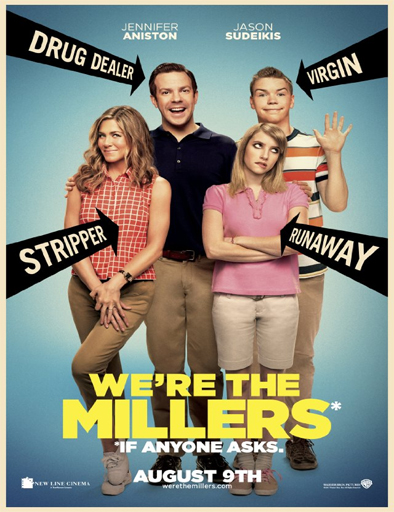Poster de We're the Millers (Somos los Miller)