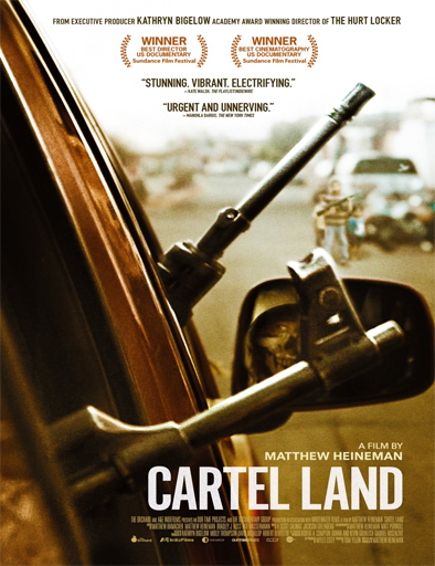 Tierra de Carteles [Cartel Land] [DVDRip] [Latino] [1 Link] [MEGA]