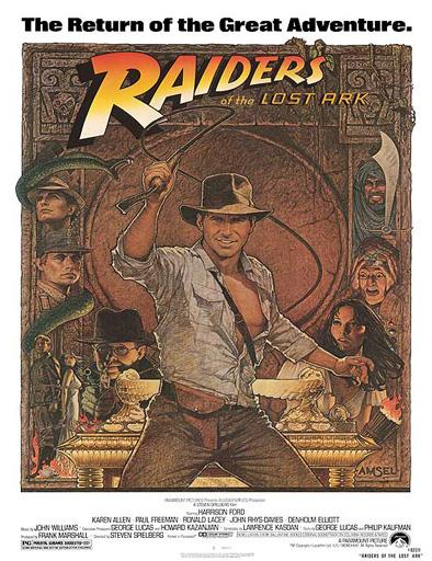 Poster de Indiana Jones y los cazadores del arca perdida