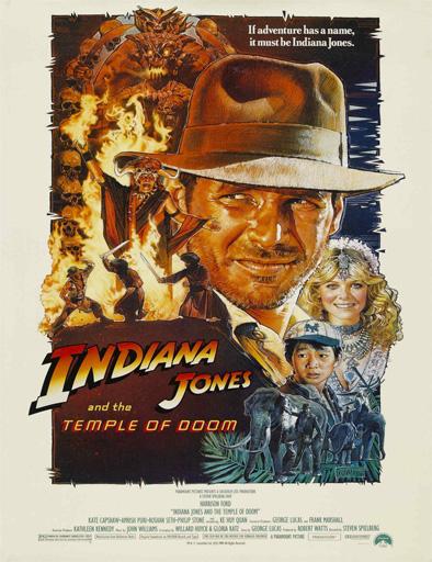 Poster de Indiana Jones y el templo de la perdición