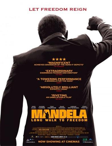 Poster de Mandela. Del mito al hombre
