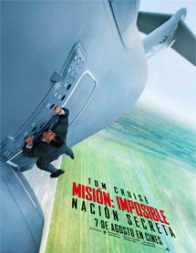 Poster mediano de Misión imposible 5: Nación secreta