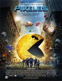 Poster mediano de Pixels (Pixeles)