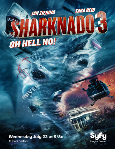 Poster de Sharknado 3: Oh Hell No!