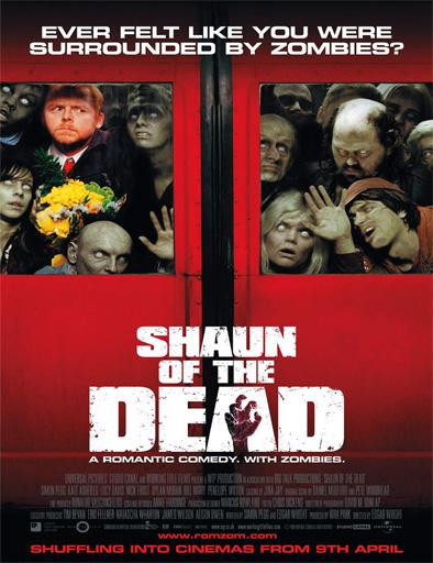Poster de Shaun of the Dead (El desesperar de los muertos)
