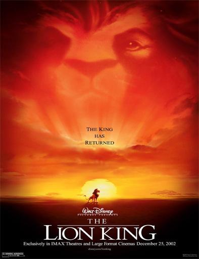 Poster de The Lion King (El rey león)